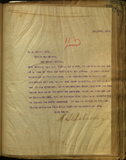 Letter from E. S. Babcock to E. J. Bacon