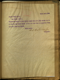 Letter from E. S. Babcock to High Brothers