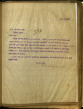 Letter from E. S. Babcock to D. B. Hoffman, Esq.