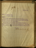 Letter; E. S. Babcock to J. D. Spreckels & Bros