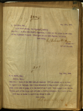 Letter from E. S. Babcock to A. Greenbaum, Esq.