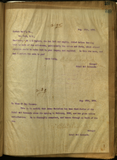 Letter from E. S. Babcock to Gorham Manufacturing