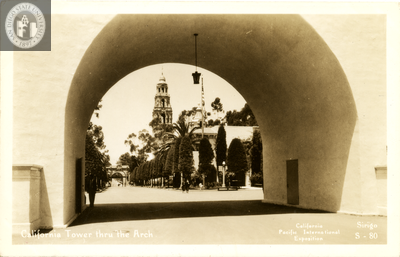 California Tower, Exposition, 1935