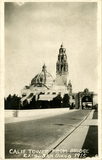 California Tower from Bridge, Exposition, 1915
