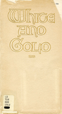 White and Gold yearbook, 1912