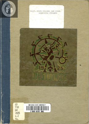 Del Sudoeste yearbook, 1925