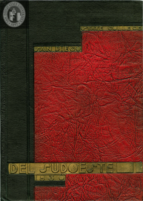 Del Sudoeste yearbook, 1930