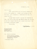 Letter from Ted Ballam, 1942