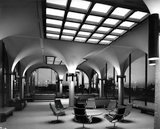 Aztec Center skylight and lounge, 1968