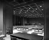 Divided conference room, Aztec Center, 1968