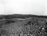 Campus construction site, 1929