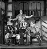 Three Unidentified Actors in Twelfth Night, 1949