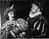 Ann Deering and Another Unidentified Actor in Twelfth Night, 1949