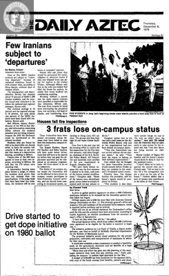 The Daily Aztec: Thursday 12/06/1979