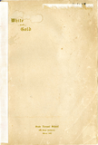 White and Gold yearbook, 1907