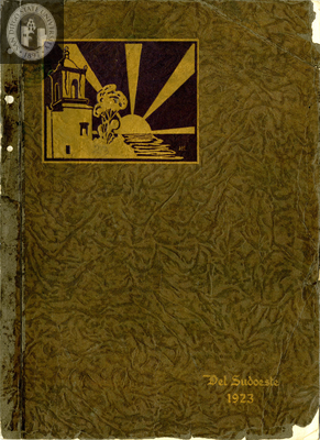 Del Sudoeste yearbook, 1923